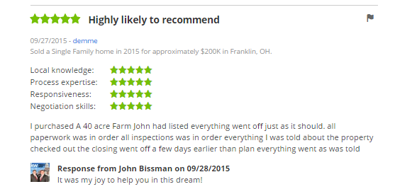 Top Realtor Review Warren County Ohio Cincinnati Ohio Real Estate Top Keller Williams Agent