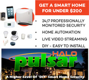 home automation, home security system jaqx pulsar halo