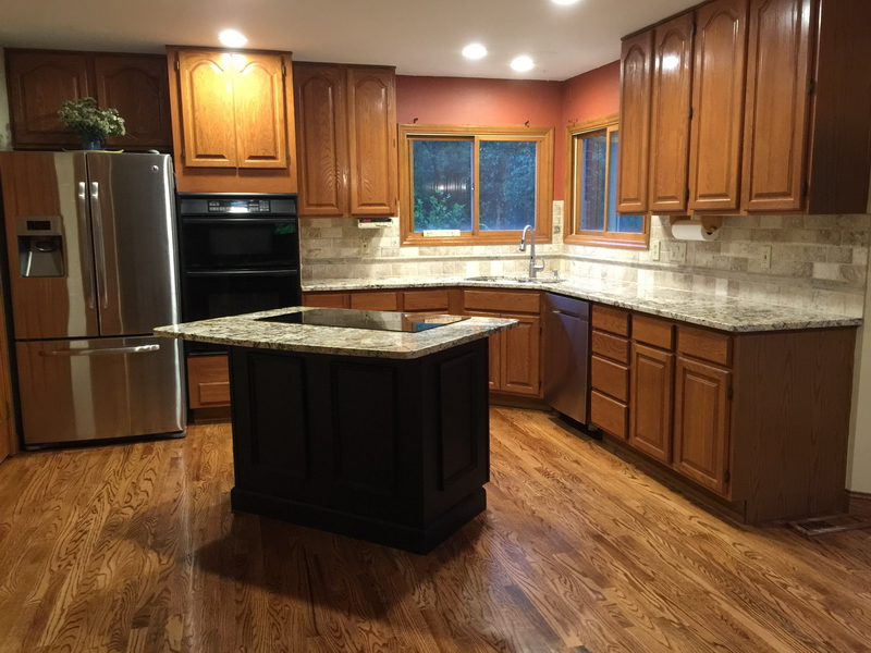 Kitchen Counters Before