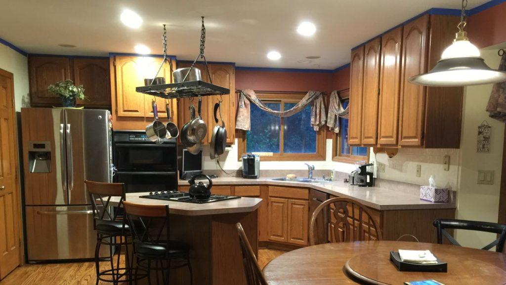old kitchen needs updated